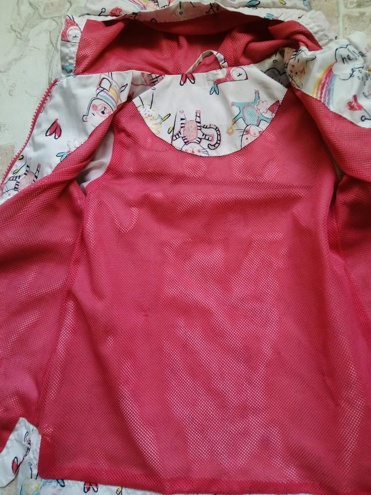 Легкая куртка ветровка nutmeg на 3-4 года фото №4