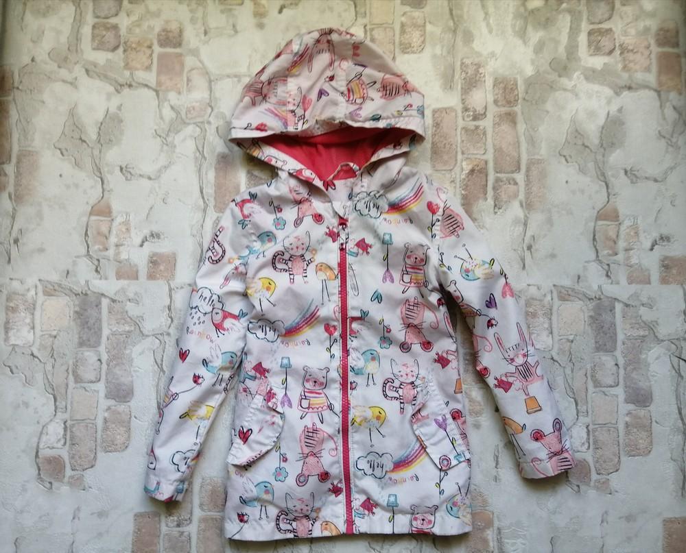 Легкая куртка ветровка nutmeg на 3-4 года фото №5