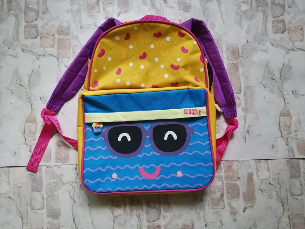 Крутой фирменный рюкзак skoodle с ланч бэгом и пеналом для садика, школы и путешествий фото №1