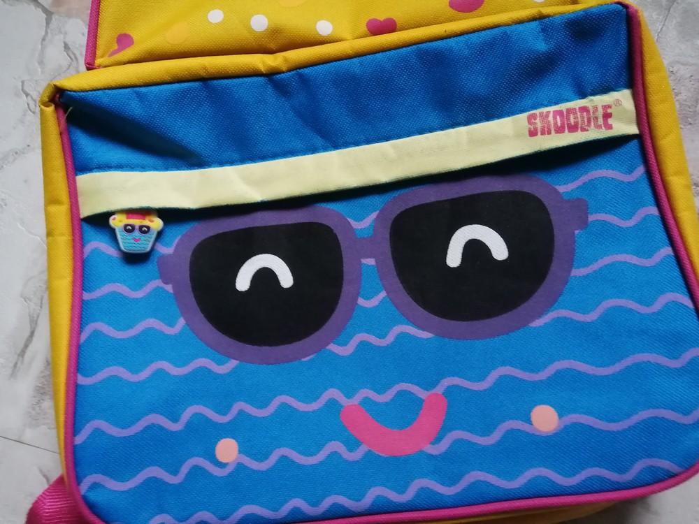 Крутой фирменный рюкзак skoodle с ланч бэгом и пеналом для садика, школы и путешествий фото №2