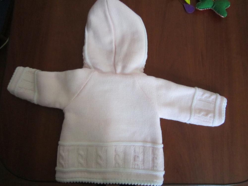 Кофта для новорожденной малышки фирмы jandelion, 2 шт. фото №3
