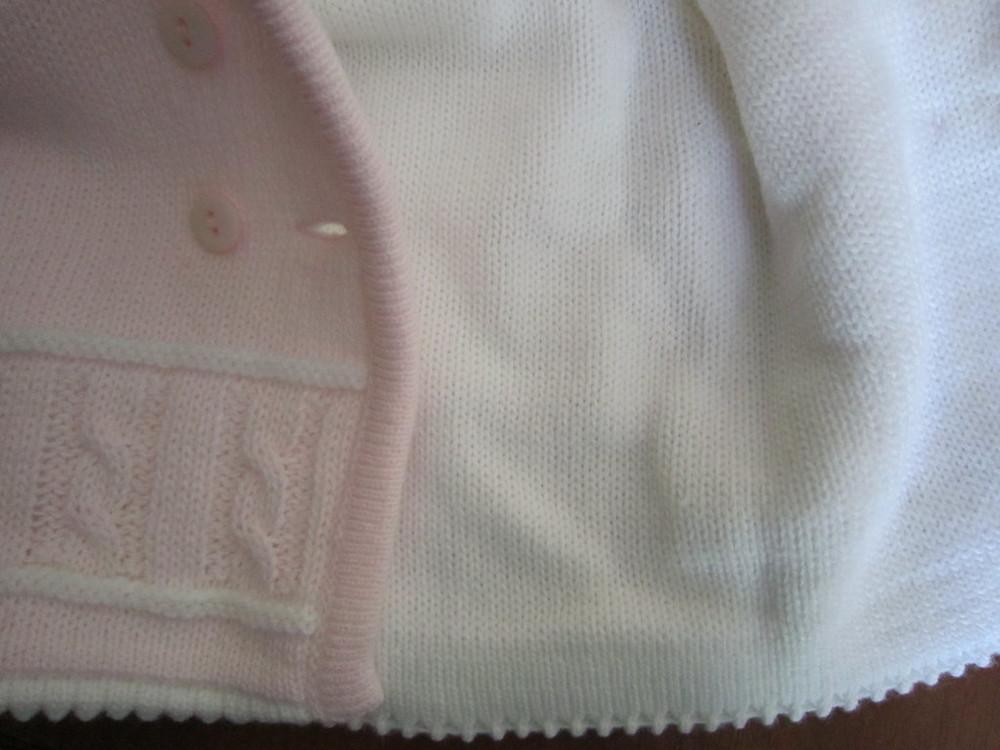 Кофта для новорожденной малышки фирмы jandelion, 2 шт. фото №4