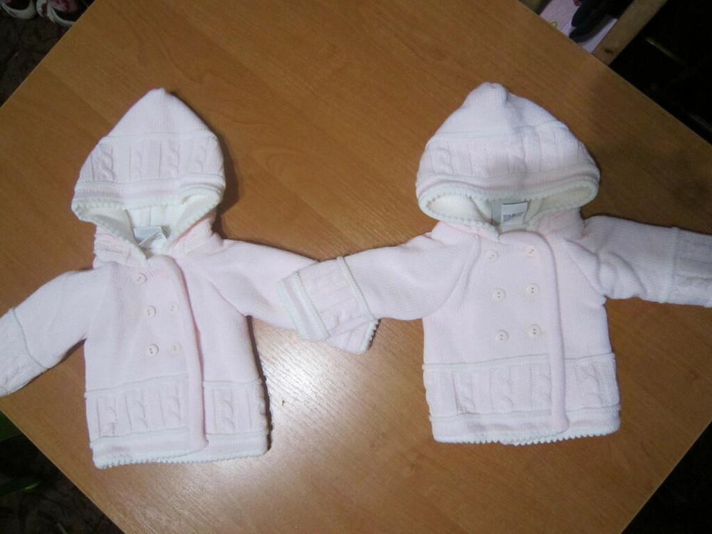 Кофта для новорожденной малышки фирмы jandelion, 2 шт. фото №1