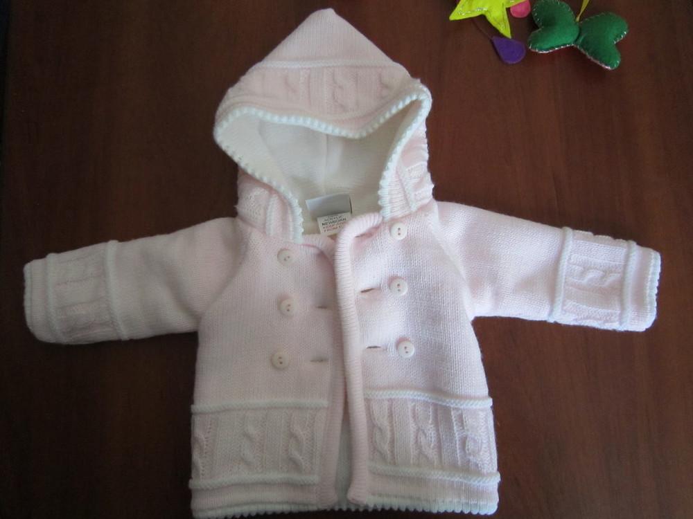 Кофта для новорожденной малышки фирмы jandelion, 2 шт. фото №2