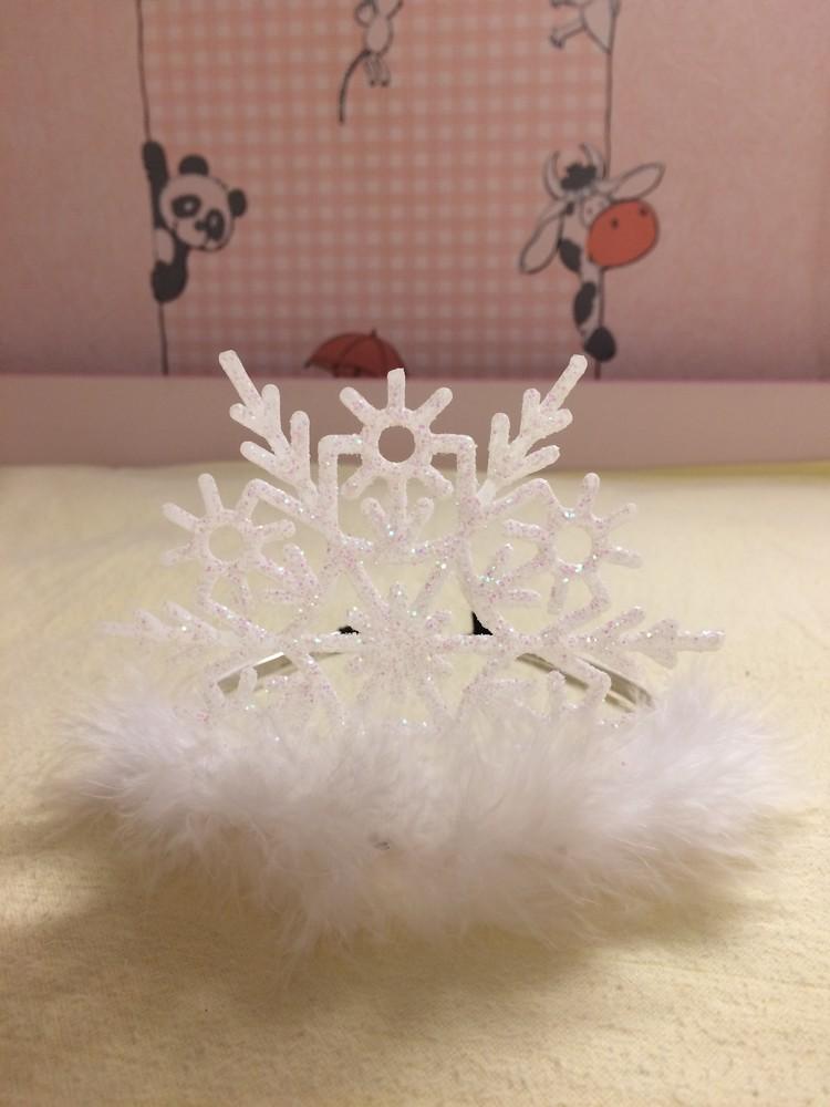 Диадема (корона) снежинка фото №1