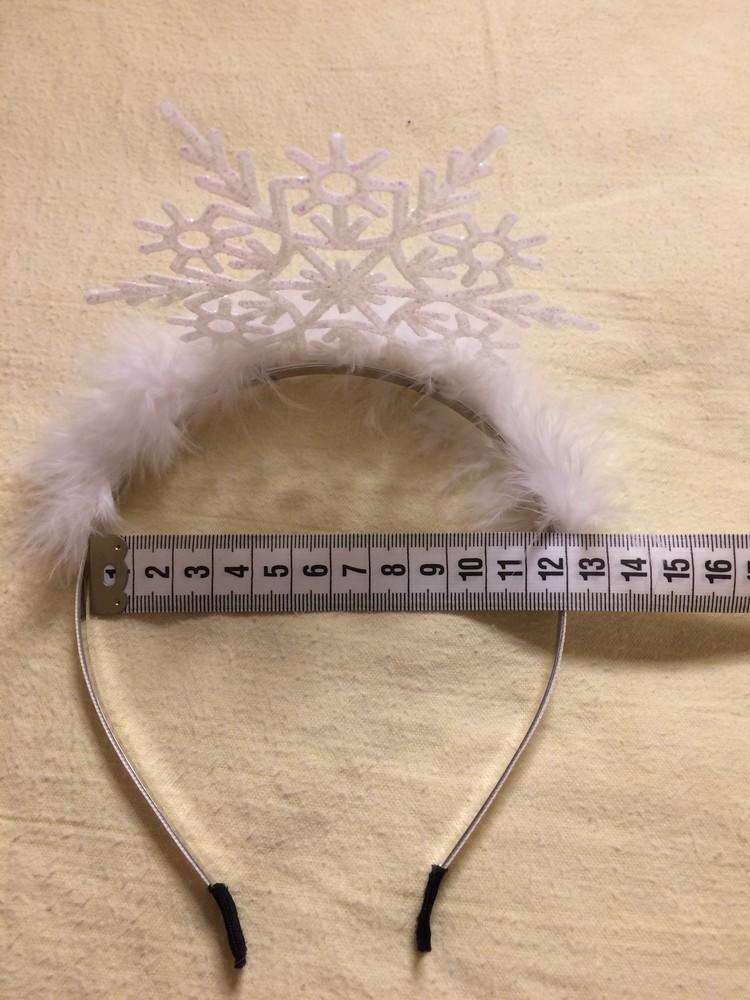 Диадема (корона) снежинка фото №4