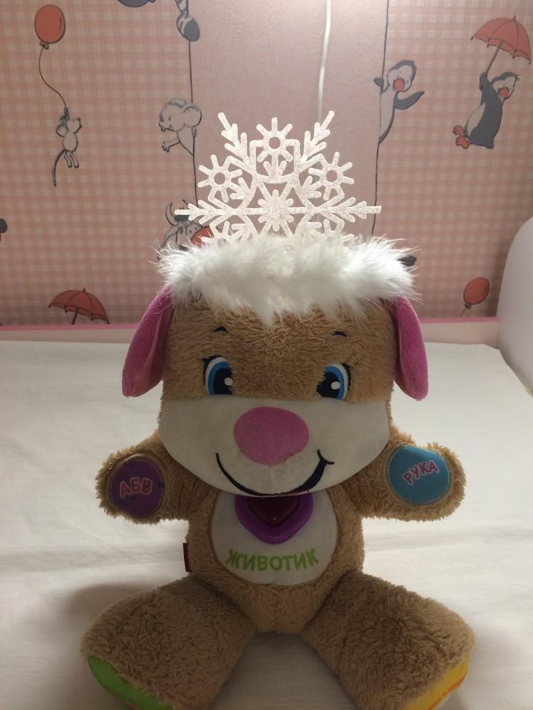 Диадема (корона) снежинка фото №5