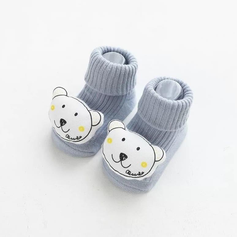 Шкарпетки з об'ємним малюнком звірят фото №2