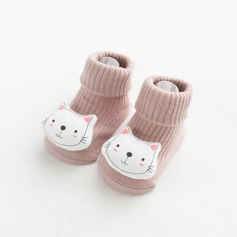 Шкарпетки з об'ємним малюнком звірят фото №4