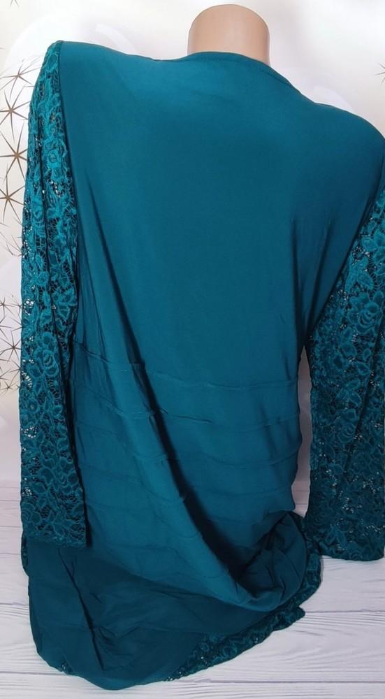 Нарядное платье большой размер фото №4