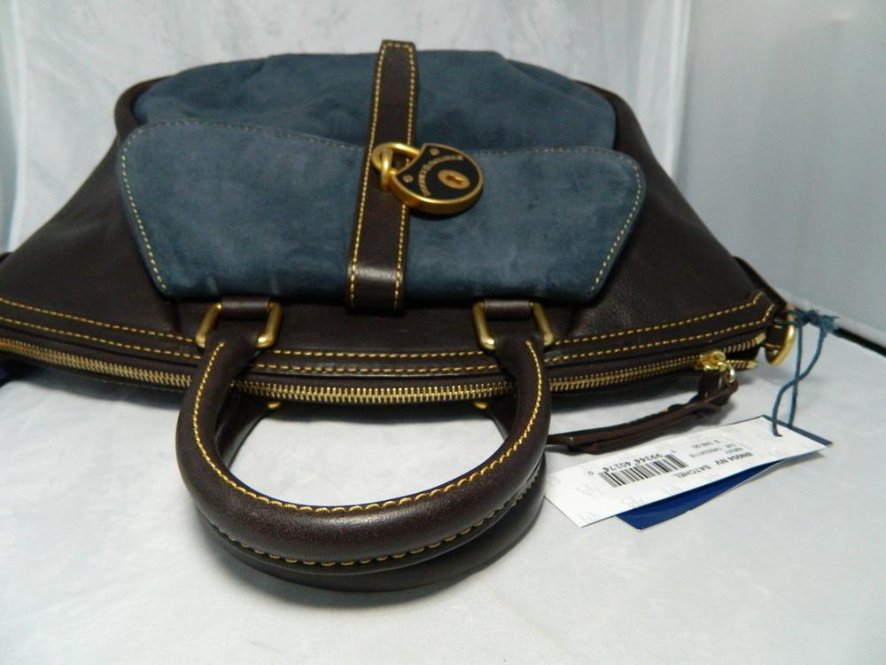 Сумка dooney and bourke lockwood satchel , оригинал фото №10