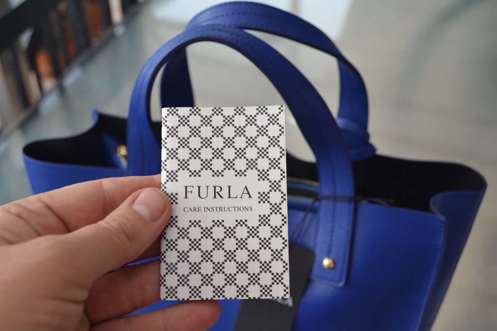 Сумка furla muse leather tote bag, оригинал фото №10