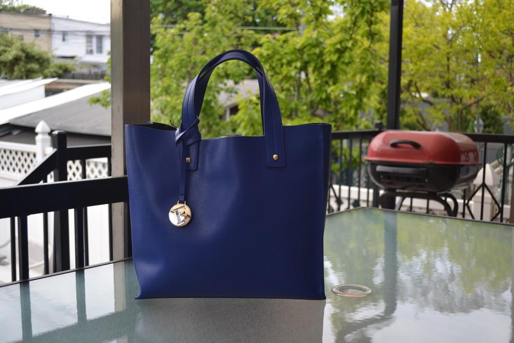 Сумка furla muse leather tote bag, оригинал фото №1