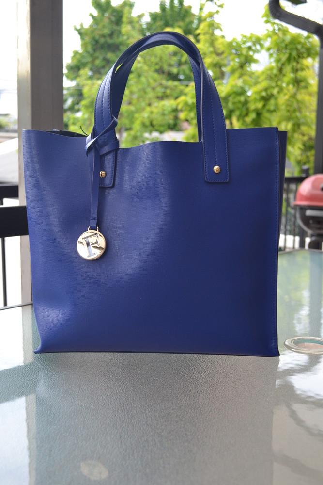 Сумка furla muse leather tote bag, оригинал фото №2