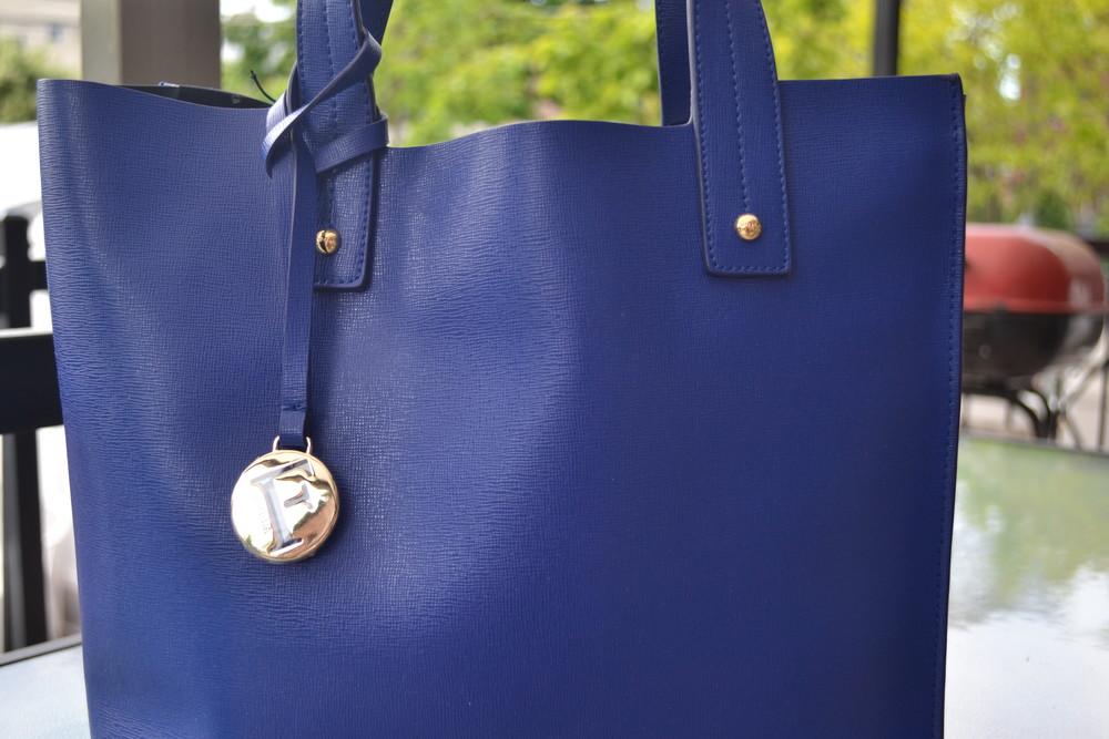 Сумка furla muse leather tote bag, оригинал фото №3