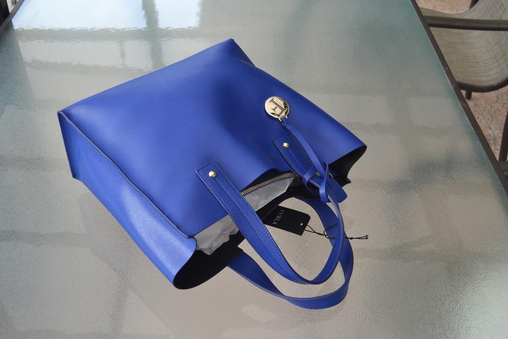 Сумка furla muse leather tote bag, оригинал фото №7