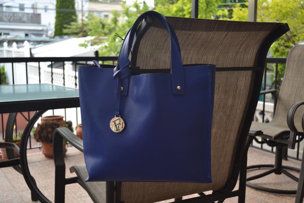 Сумка furla muse leather tote bag, оригинал фото №8