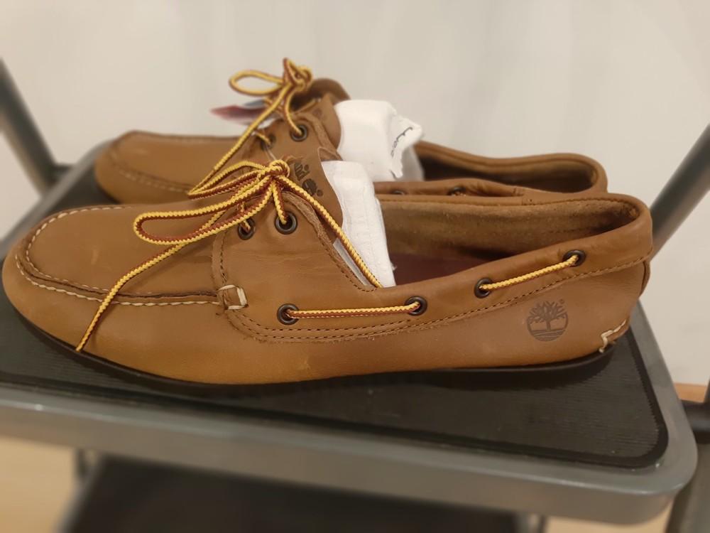 Туфли мужские топсайдеры timberland размер 45, 12 m, новые фото №1
