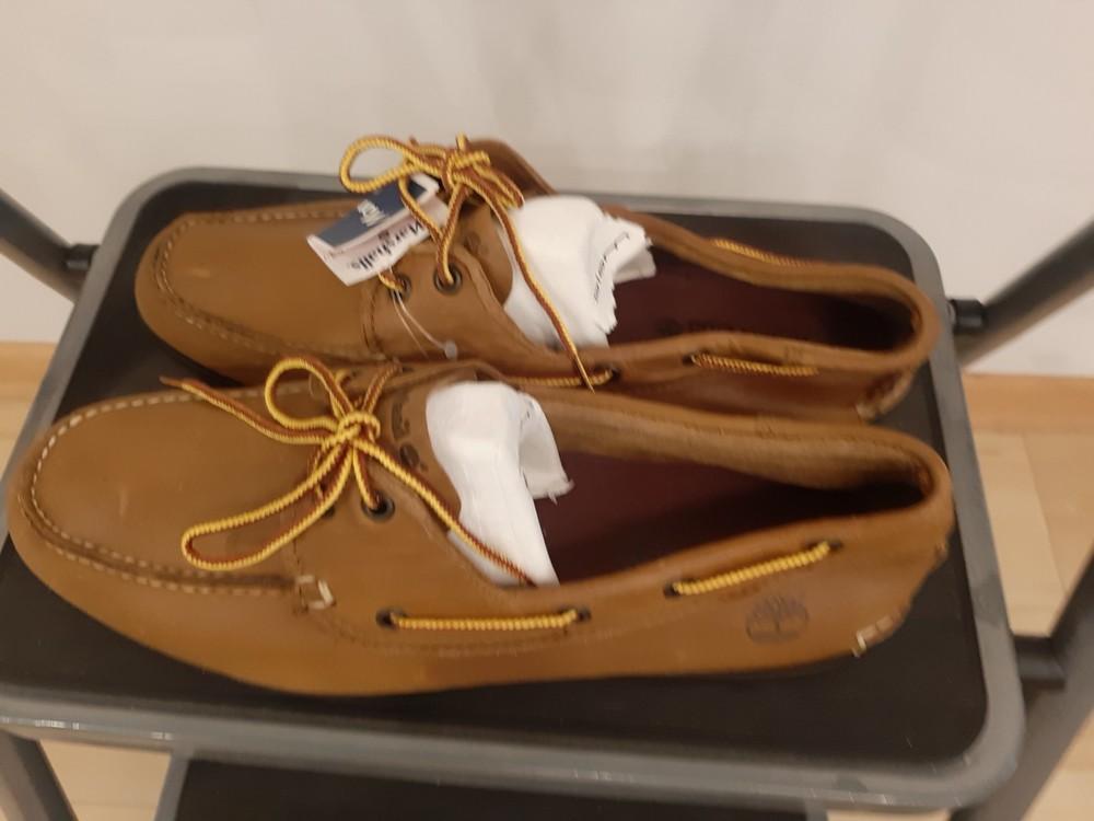 Туфли мужские топсайдеры timberland размер 45, 12 m, новые фото №2