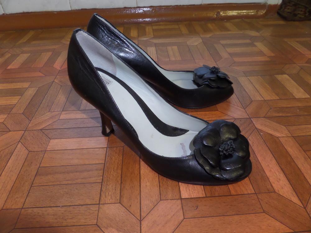 Фирменные туфли кожа р.37 стелька 24 см фото №1