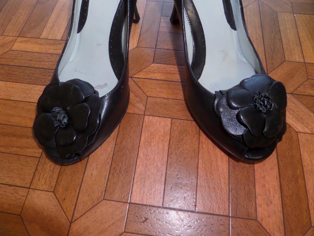 Фирменные туфли кожа р.37 стелька 24 см фото №3