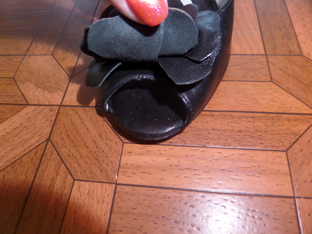 Фирменные туфли кожа р.37 стелька 24 см фото №4