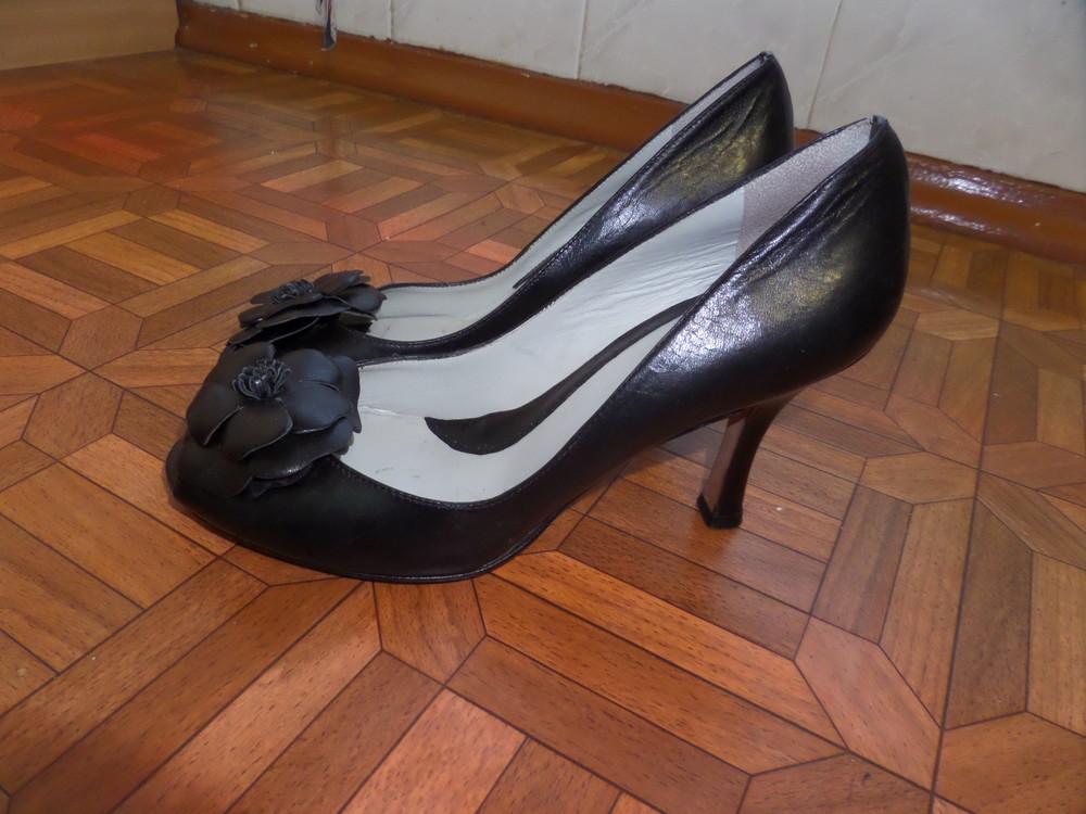 Фирменные туфли кожа р.37 стелька 24 см фото №6