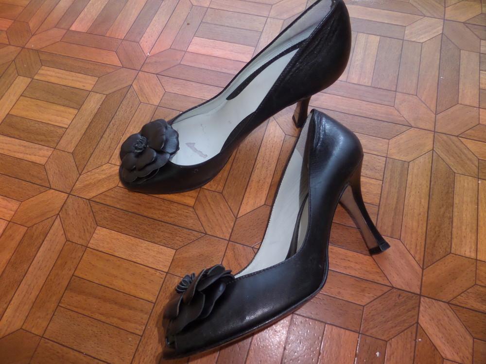 Фирменные туфли кожа р.37 стелька 24 см фото №7