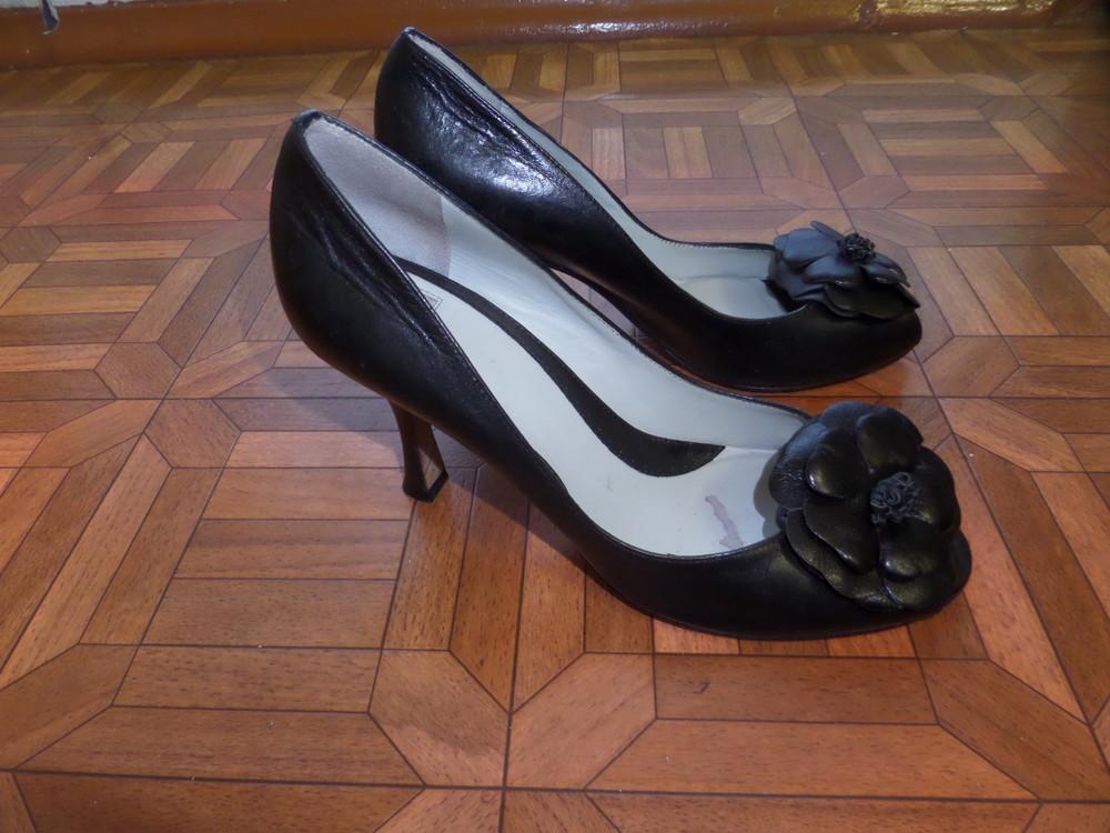 Фирменные туфли кожа р.37 стелька 24 см фото №9