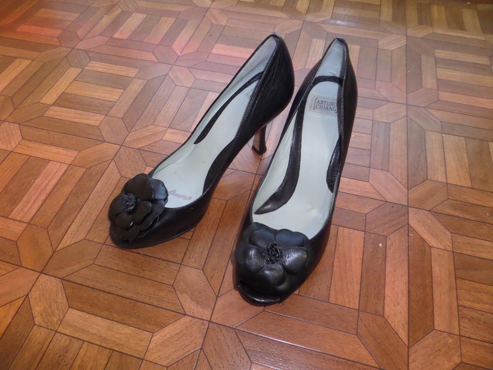 Фирменные туфли кожа р.37 стелька 24 см фото №10