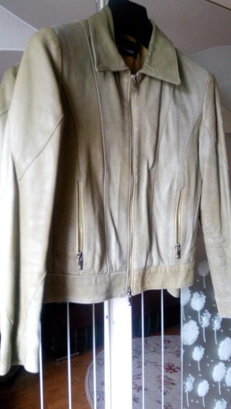 Куртка кожанная фото №1