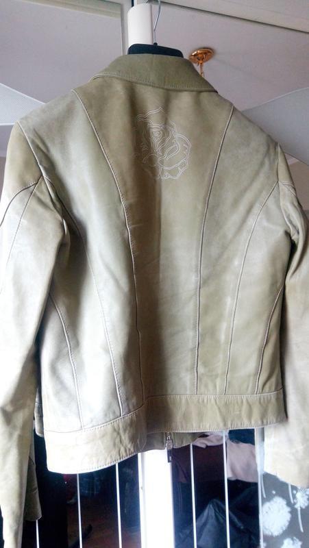 Куртка кожанная фото №2