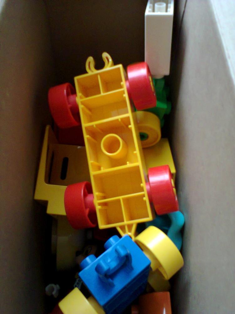 Лего дупло два набора, в состоянии новых фото №3
