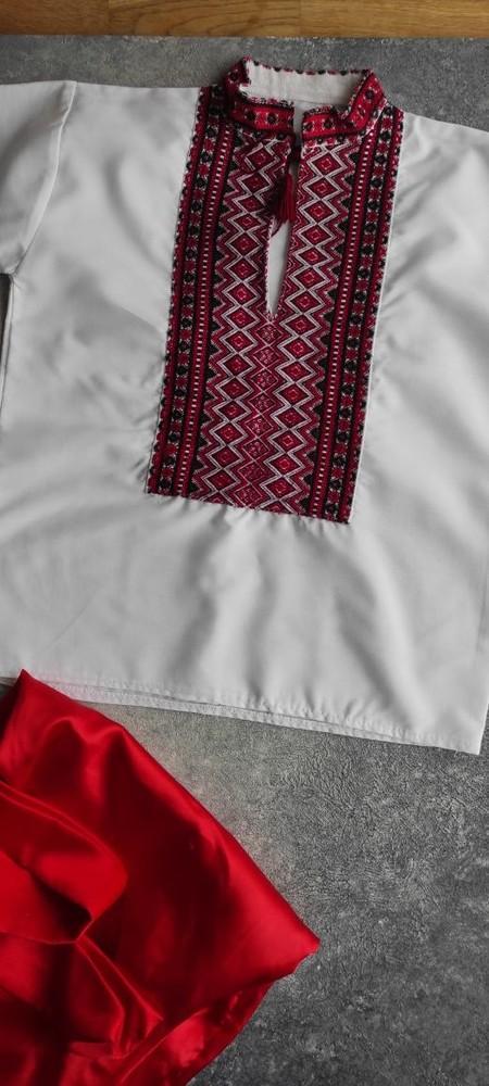 Украинский народный костюм шаровары на 3-4 года фото №3