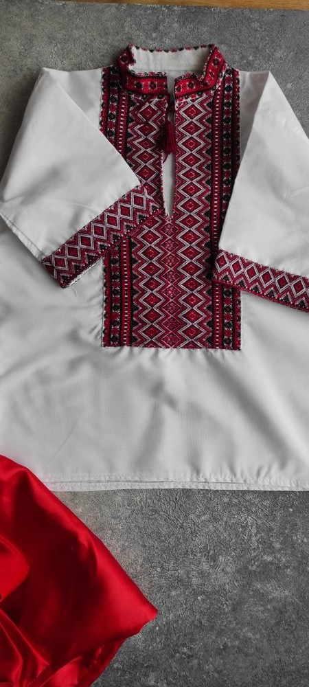 Украинский народный костюм шаровары на 3-4 года фото №4