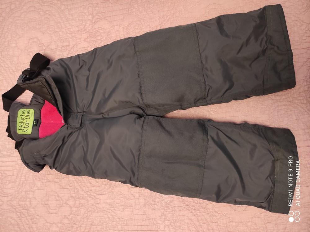 Зимний термо комбинезон на девочку фото №3
